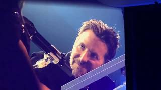 Lady Gaga and Bradley Cooper perform Shallow in Las Vegas