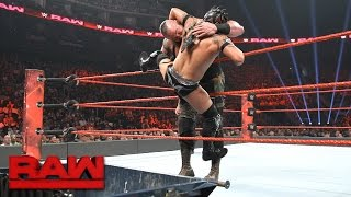 Kalisto vs. Braun Strowman — Dumpster Match: Raw, April 24, 2017
