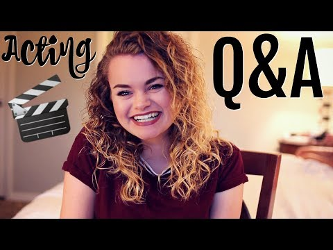 ACTING Q&A #6! How to get Headshots, Listing Roles on a Resume, Acting in College, etc.