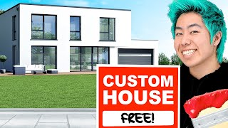 Giving A Custom House To People In Need
