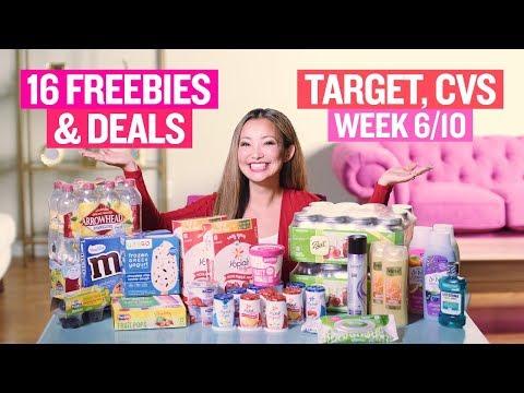 ★ 16 BEST Target & CVS Coupon DEALS & FREEBIES (Week 6/10 – 6/16)