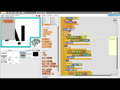 Simple Artificial Intelligence (AI) coding in Scratch