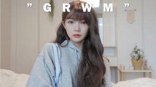 (SUB)GRWM for schoolㆍ법학과생의 학교갈준비 같이해요🍦coral pink makeup