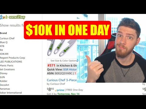 I Spent $10,000 Today on Products to Sell on Amazon.. See What They Are.