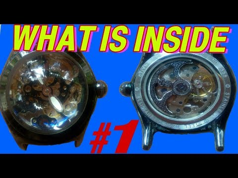 What is inside #1- World's most complicated  watche