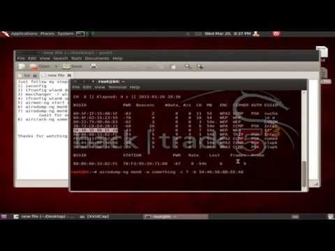 How to crack WiFi with WEP encryption easy :)