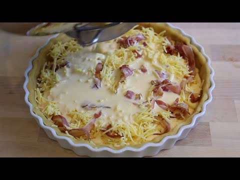 How to Make a Quiche Lorraine (with Cheese) | All Time French Classic