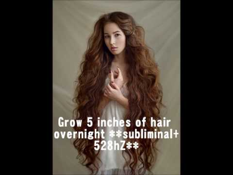 Grow 5 Inches Of Hair OVERNIGHT !!100% GUARANTEED!! **affirmations + 528hZ frequency**