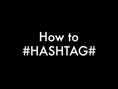 How to HASHTAG on Apple Mac - tutorial
