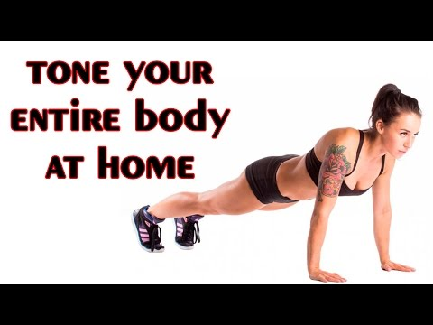 Tone your entire body at home - tone body workout women
