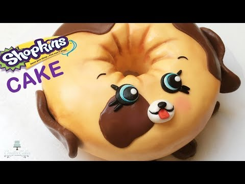 Shopkins/Petkins Dolly Donut Cake | How to make from Creative Cakes by Sharon