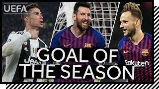SHORTLIST: UEFA GOAL OF THE SEASON 2018/19