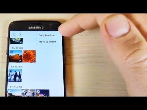 Samsung Galaxy S7, S7 edge - How to Copy/Move/Transfer Photos on SD Card