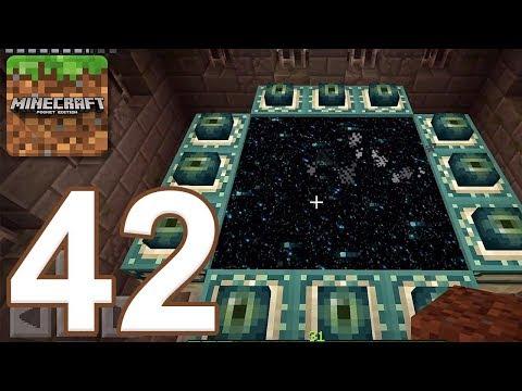Minecraft: Pocket Edition - Gameplay Walkthrough Part 42 - End Portal (iOS, Android)