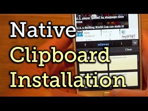 How to Get Native Clipboarding on Your Android Device - Samsung Galaxy Note 3 [How-To]