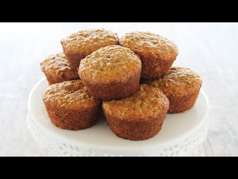 How to Make Coconut Oil Bran Muffins