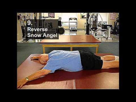 Fall Prevention Exercises (Flexibility Series) - Prone Snow Angel