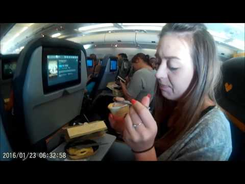 Florida journey pt 1 9 hour flight!