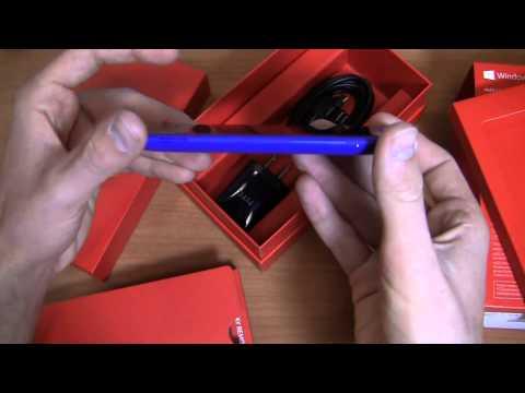 Verizon HTC Windows Phone 8X Unboxing