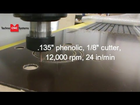 Techno HD CNC Router Cutting Ring Gaskets