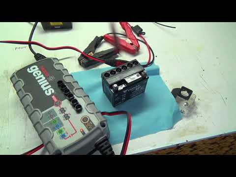 YES----That dirt bike battery was junk.....Filling and install a new one