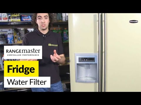 How to replace a fridge water filter - Rangemaster
