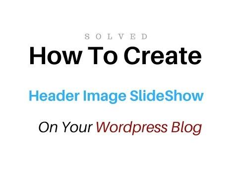 how to add meta slider header image slideshow into my Wordpress