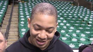 Tyronn Lue on upcoming Game 5 against the Celtics