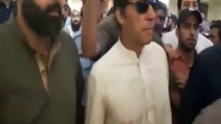Imran Khan leaves Supreme Court after Panamagate verdict
