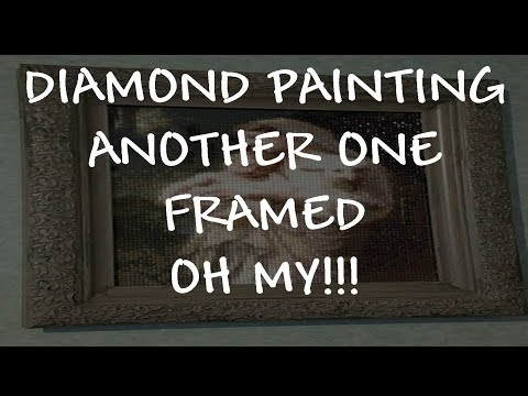 Frame Shopping For Diamond Painting How To Make It Look Antique!