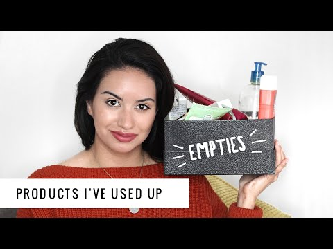 EMPTIES #10 | WOULD I REPURCHASE? Products I've Used Up!