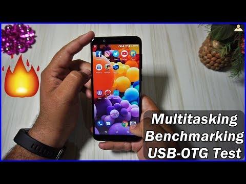 Zenfone Max Pro M1 Multitasking, Benchmarking &  USB OTG Test 🔥