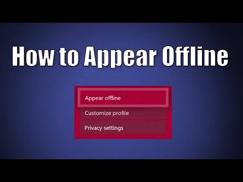 How to Appear Offline Xbox One Tutorial