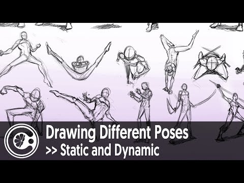 Drawing Different Poses