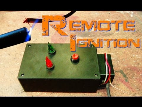 How-To: 30kV Remote Ignition Circuit