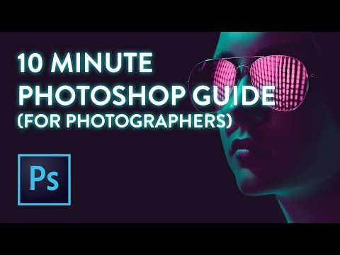 Learn Photoshop for Photographers! (Beginner Tutorial)