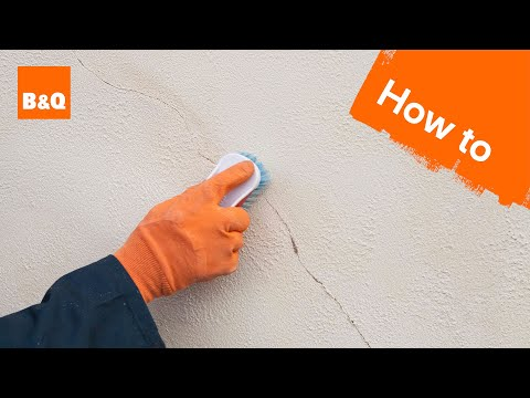 How to prepare an external wall for painting
