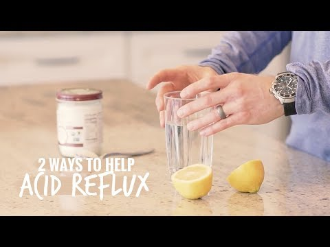 How to Help Cure Acid Reflux