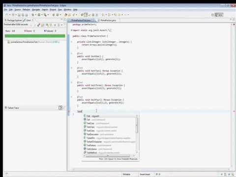 Prime Factors Kata in Java
