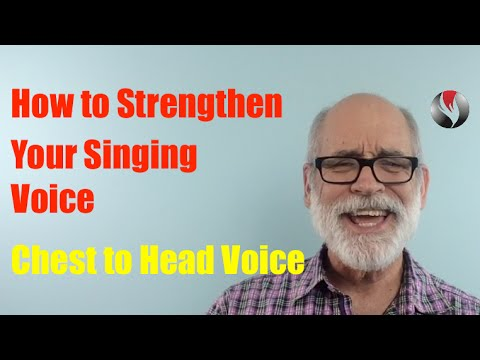 Ep 89  How to Strengthen Your Singing Voice   Chest To Head Voice