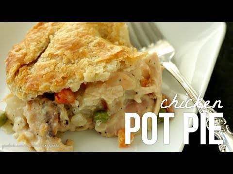 Homemade Chicken Pot Pie!! How to Make Pot Pie Recipe