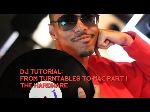 DJ Tutorial: Recording From Turntables To Mac: Hardware - The DJ AOT Show Ep. 1
