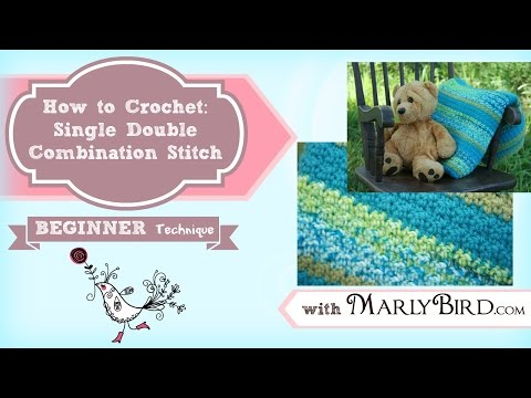 Learn How to Do Single Double Combination Stitch (Seed Stitch) with Marly Bird