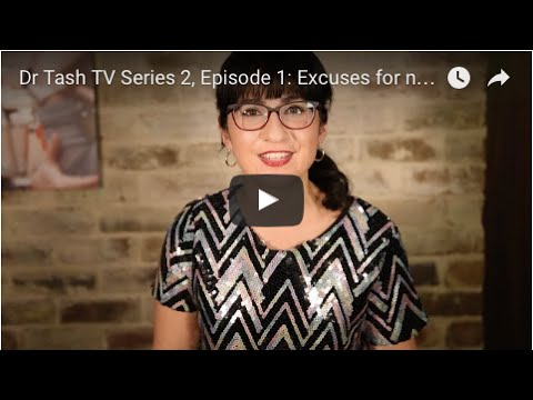 Dr Tash TV Series 2, Ep 1: Excuses for not drinking when trying to fall pregnant and some tips