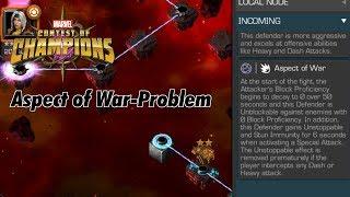 "Marvel Contest of Champions | Das ""Aspect of War""-Problem"