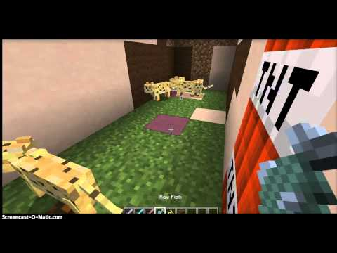 Minecraft: How to tame an Ocelot