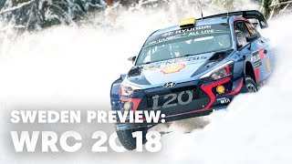 Snow, Ice and Jumps: preview the Swedish Winter Wonderland. | WRC 2018