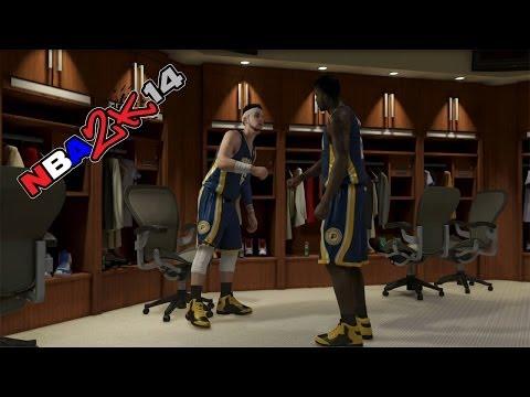 NBA 2k14 My Career - I'm The Starter!!