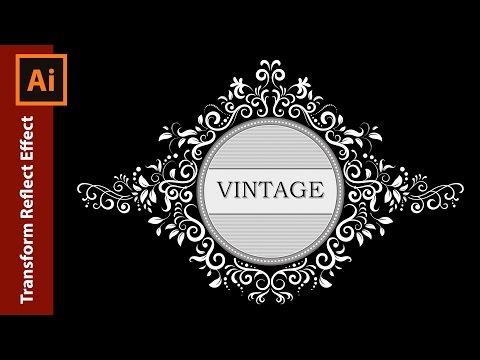 How to design a Vintage Ornate Frame in Adobe Illustrator
