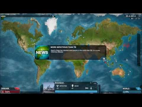 Let's Play Plague Inc. Evolved (Unlimited Plague)